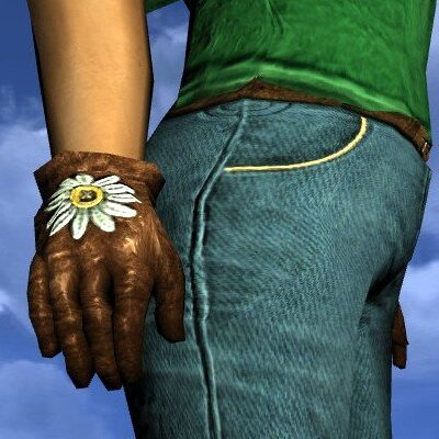 LOTRO Gardening Gloves - Farmers Faire Hands Cosmetic