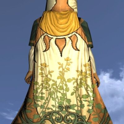 LOTRO Hooded Cloak of the Midsummer - Farmers Faire Back Cosmetic