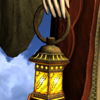 LOTRO Lantern - Farmers Faire - Held Items / Cosmetic Weapons
