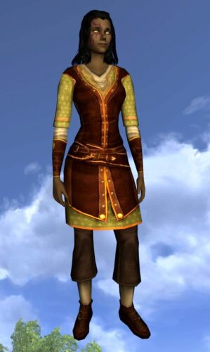 LOTRO Summer Tunic and Trousers – Long-Sleeved and Short-Sleeved