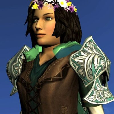 LOTRO Mantle of the Summer Sea - Farmers Faire Shoulders Cosmetic