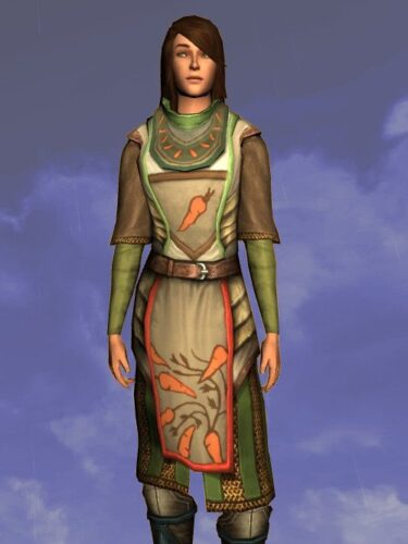 LOTRO Tunic of the Green Grocer - Farmers Faire Upper Body Cosmetic