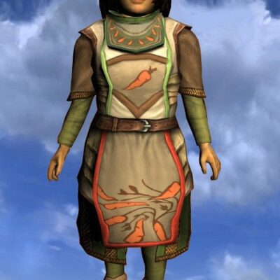 LOTRO Tunic of the Green Grocer - Female Hobbit