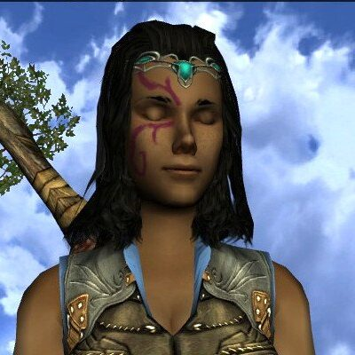 LOTRO Turquoise Summer Circlet - Farmers Faire and Anniversary Head Cosmetic