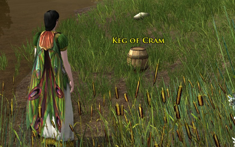 Kegs of Cram. Not Crab. Well maybe crab now, who knows?
