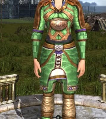 LOTRO Body Type Setting - at its fullest.