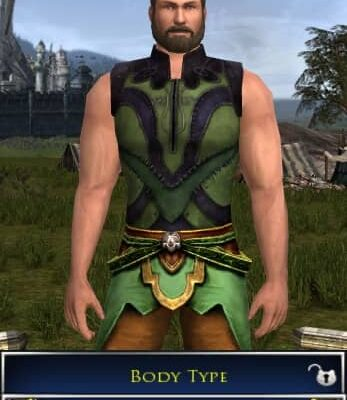 LOTRO Largest Body Type for a Male Race of Man