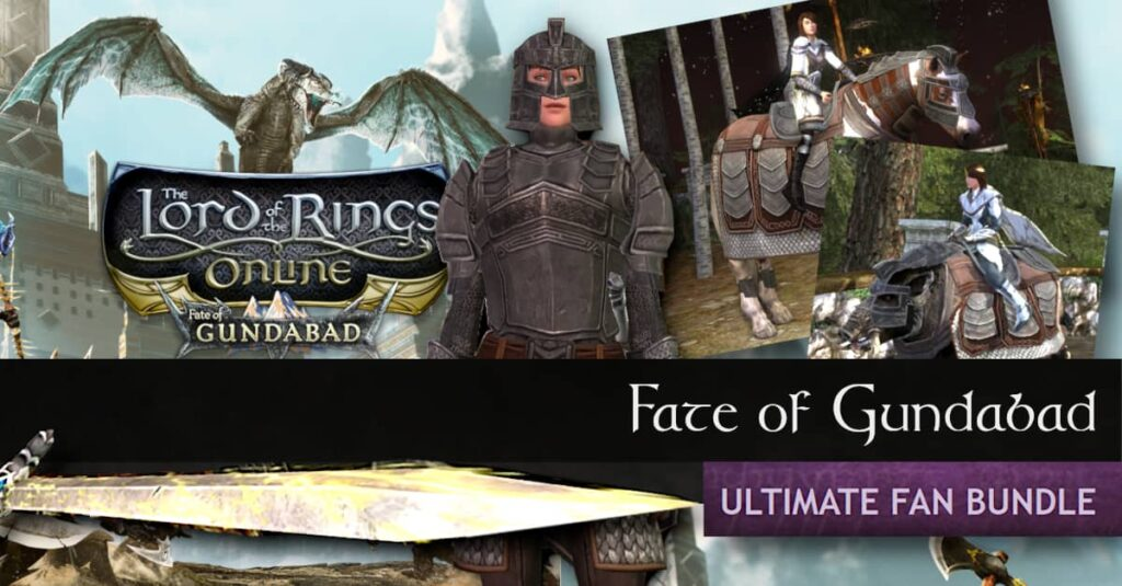 LOTRO Fate of Gundabad - Ultimate Fan Bundle - What's in the Box?