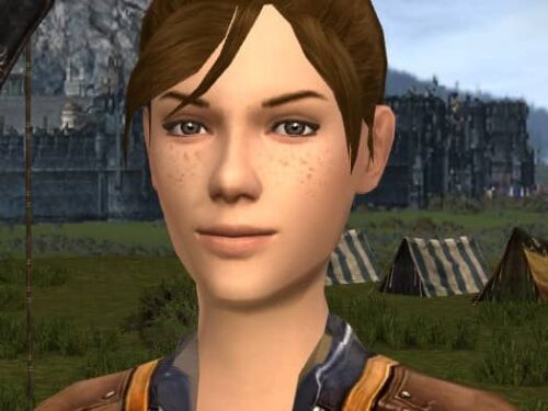 Adding Freckles in LOTRO Character Creation