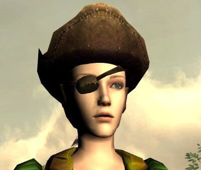 LOTRO Mariner's Hat and Eyepatch - Head Cosmetic - Tale of a Shipwrecked Mariner