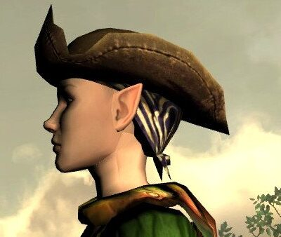 LOTRO Mariner's Hat - Side View