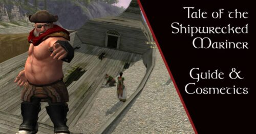 LOTRO Tale of the Shipwrecked Mariner Event - Guide and Cosmetics
